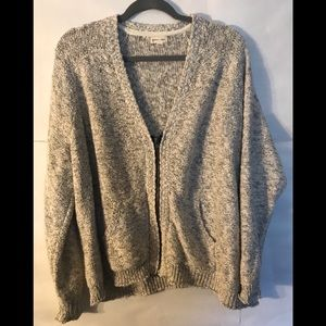 SILENCE + NOISE Sweater Light Gray Sweater Size L
